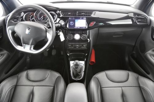 CITROËN DS3 BE CHIC 1.4 HDI + GPS + LEDER + AIRCO + CRUISE + PDC + ALU 16
