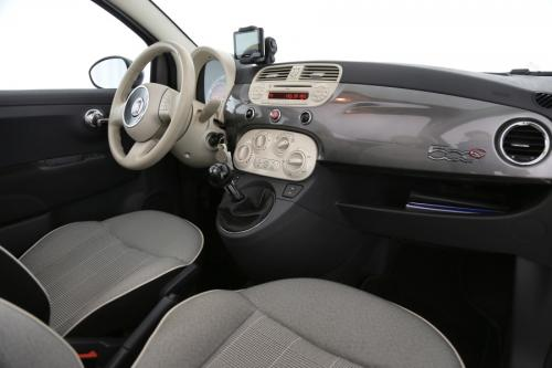 FIAT 500 LOUNGE 1.3 MULTIJET CABRIO + GPS + AIRCO + PDC + OPEN DAK + ALU