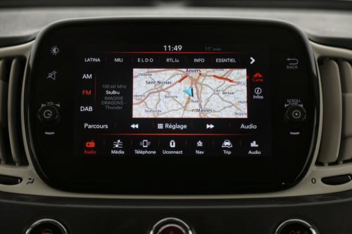 FIAT 500 POP STAR 1.2i + GPS + AIRCO + PDC + ALU