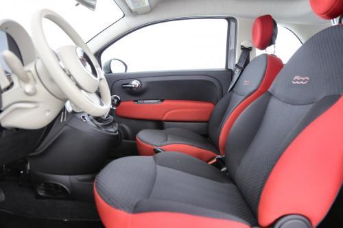 FIAT 500 POP STAR 1.2i +  GPS + AIRCO + CRUISE + PDC + ALU