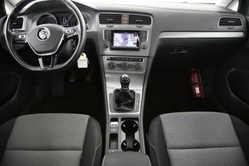 VOLKSWAGEN Golf Variant Trendline BMT 1.6 TDI + GPS + AIRCO + CRUISE + PDC + TREKHAAK
