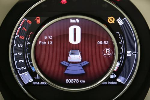 FIAT 500C Lounge 0.9 TwinAir Turbo  + A/T + GPS + LEDER + AIRCO + PDC + OPEN DAK + ALU 16
