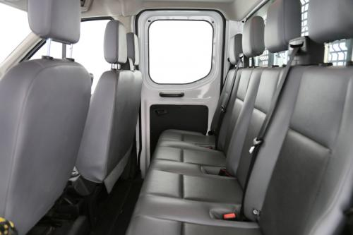 FORD Transit CDC 350L L3 Trend 2.0 TD FWD + LEDER + CRUISE + AIRCO
